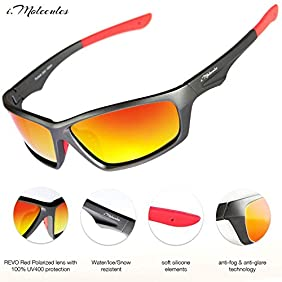 Polarized Sports Driving Sunglasses for Men Women UV400 Protection Lifetime Guarante