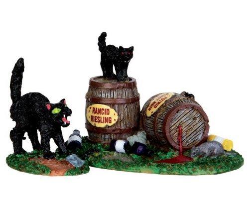 Lemax Spooky Town Wine Barrels, Set of 2 #34611]()