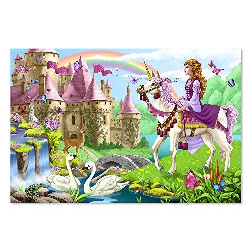 Melissa & Doug Fairy Tale Castle Jumbo Jigsaw