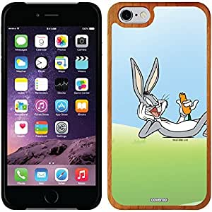 Coveroo iphone 5c Madera Wood Thinshield Case with Bugs Bunny Laying with Carrot Design