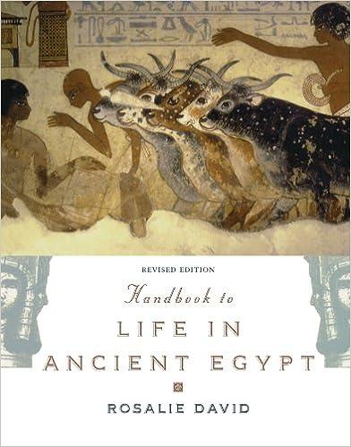 Amazon handbook to life in ancient egypt revised handbook to life in ancient egypt revised 2nd edition fandeluxe Gallery