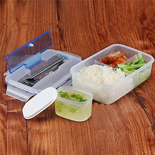 1000 Ml Oven Lunch Box Sealed Singel Layers PP5 Large Capaci