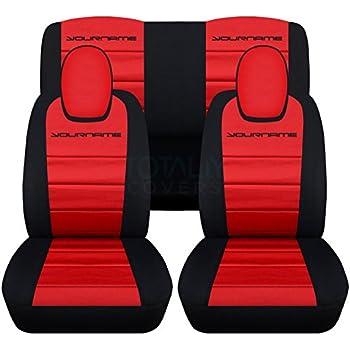 Amazon Com 2010 2015 Chevy Camaro Black Red Artificial