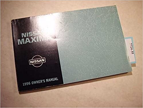 1996 nissan maxima owners manual nissan amazon books fandeluxe