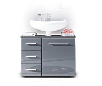Küche küche glasfront grau : BEGA 36-864-C0 Badezimmer-Waschbeckenunterschrank, Glasfronten ...