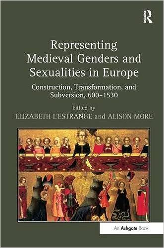 Representing medieval genders and sexualities in europe