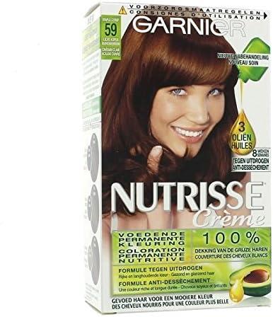 Garnier Coloración Nutrisse créme – 59 Castaño claro caoba ...