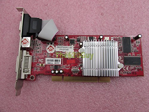 Diamond DM-R7000PCI-B3 ATI Radeon 7000 64MB 64-Bit VGA/DVI/TV Out PCI Video Card