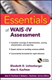 Essentials of WAIS®-IV Assessment