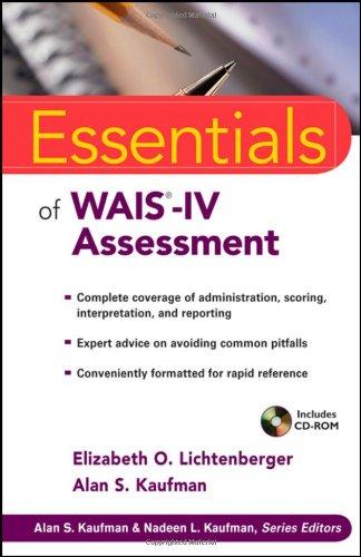 Essentials of WAIS-IV Assessment (Essentials of...