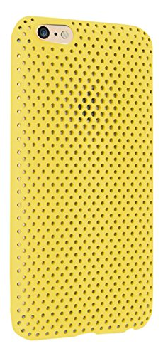 Andmesh Cell Phone Case for iPhone 6 Plus - Yellow