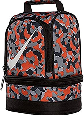 07d891d3a28f Amazon.com  Nike Dome Lunch Tote - Total Orange Cool Grey  Toys   Games