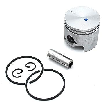 P SeekPro Kits de pistones de Cilindro 40 MM para desbrozadora ...