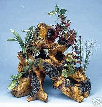 Penn-Plax Driftwood Garden Sup Wood