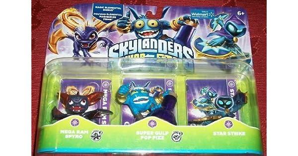 Amazon.com: Skylanders Swap Force Magic Triple Pack ...