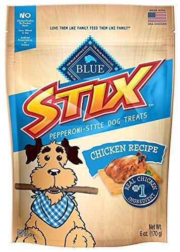 BLUE Stix Chicken & Brown Rice Recipe Dog Treats 6-oz