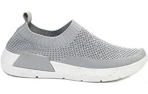 26f9c316934 BaZhaHei Women Outdoor Sneakers Mesh Trainers Casual Sports Shoes ...