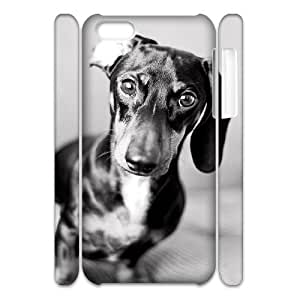 Customized Durable Case for iPhone 6 plus 5.5 3D, Cute Dog Dachshund Phone Case - HL-6 plus 5.594227