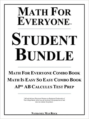 Amazoncom Math For Everyone Student Bundle Math For Everyone