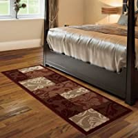 Better Homes and Gardens Scroll Patchwork Runner Rug, Multi-Color, 1'9' x 5'6'