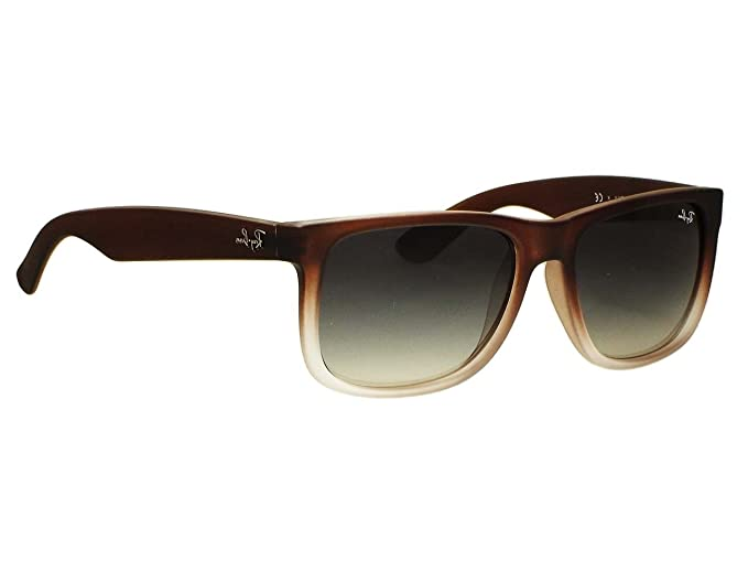 1e0cf936021 Image Unavailable. Image not available for. Colour  Ray Ban RB4165 Justin  865 T5 Havana Polarized Sunglasses 55mm