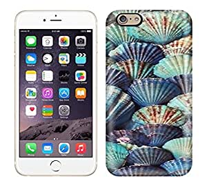 Best Power(Tm) HD Colorful Painted Watercolor Shells Of Marine Blue Classic Hard Phone Case For Iphone 6