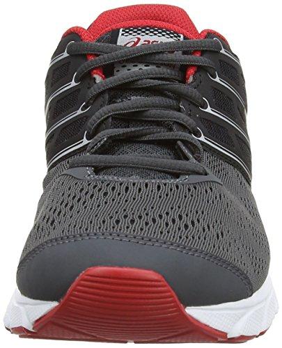 ASICS Gel-Evation - Zapatillas de deporte para hombre Marrón (Graphite / Chinese Red / Silver 7823)