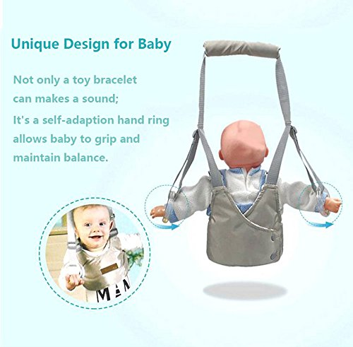 Mano Bebé Andadores con Anillos de campanas autoadaptables, Para ...