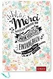 Merci Wofür ich dankbar bin: Mein kreatives Eintragbuch