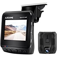 Azdome Car Dash Cam 2K 1440P Super Night Vision Dashboard Camera Recorder DVR 2.3 LCD with GPS, 170° Wide Angle, ADAS, HDR, Loop Recording, Motion Detection, Parking Mode, 2 Port USB Charger