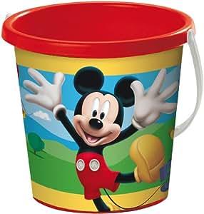 Mondo A1100221 Mickey Mouse - Cubo de playa (17 cm)