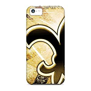 Hard Plastic Iphone 5c Cases Back Covers,hot New Orleans Saints Cases At Perfect Customized