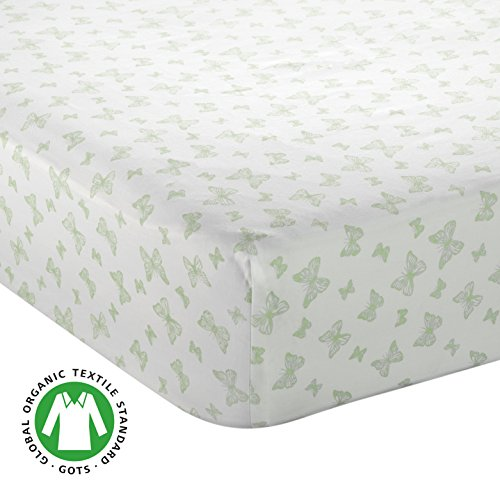 Bayleaf Organics Fitted Crib Sheet (Deep Fit) GOTS-Certified 100% Organic Sateen Cotton | Cool, Breathable Mattress Protector | Standard Sized Cover | Boys and Girls (Product Premiere Mattress Set)