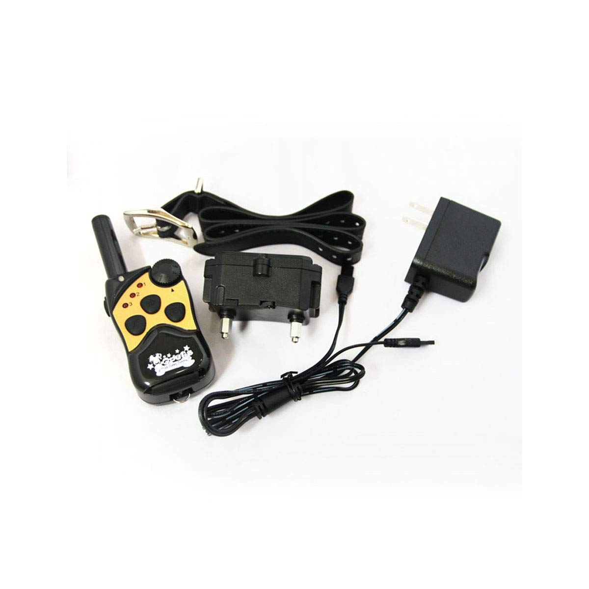 Black Dog Training, Anti-Dog Bark, Remote Control Dog, Dog Electronic Collar, Anti-Dog Bite Electronic Collar (color   Black)