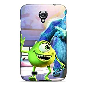 New Style Case Cover JhfDFte4575kcZaQ Monsters University Movie Compatible With Galaxy S4 Protection Case