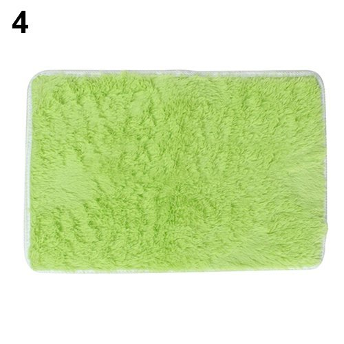 Rugs Anti-Skid Shaggy Area Rug Home Color Green