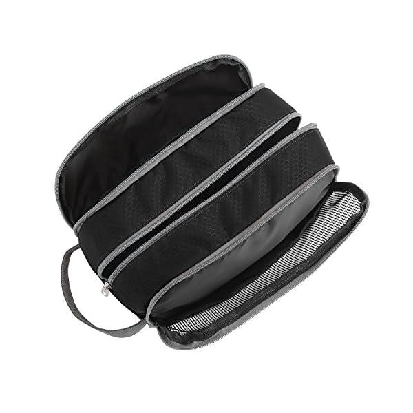 Travel-Toiletry-Bag-Nylon-Gonex-Dopp-Kit-Shaving-Bag-Toiletry-Organizer