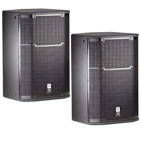 JBL PRX415m Floor Monitor DJ PA Passive Speaker Pair NEW