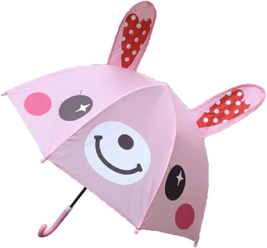 Oreilles 3D 60cm abeille MagiDeal Parapluie pour Enfant Gar/çon Fille Motif Mignon Animal