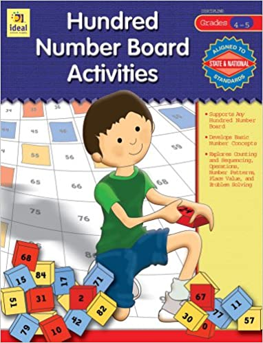 Hundred Number Board Activities Gr 4-5