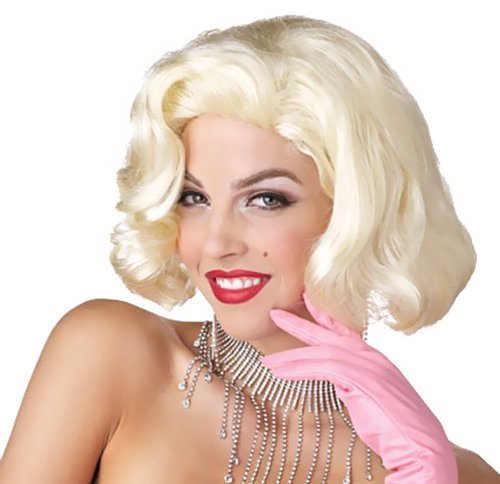 Diamond Marilyn Wig Costume Accessory (Wig Marilyn Blonde Sexy)