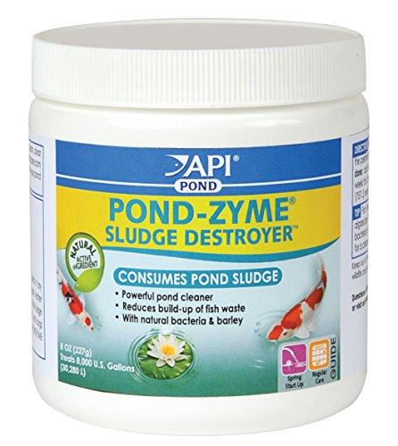 API Aquarium Pharmaceuticals Inc 146 8 Oz Pond-Zyme Sludge Destroyer,  Pack of 12 (Aquarium Pharmaceuticals Inc)