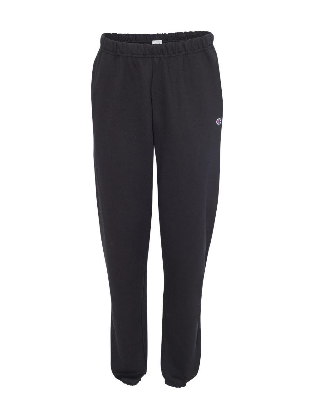 Champion Reverse Weave Adult Pant, RW10, 2XL, Black