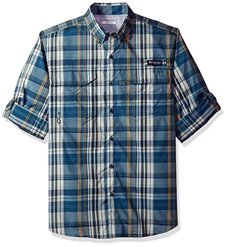 Columbia Mens Super Blood and Guts Long Sleeve Woven Shirt