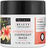 brightening Freeman Beauty Infusion Mask Brightening 4 Ounce Jar (118ml)