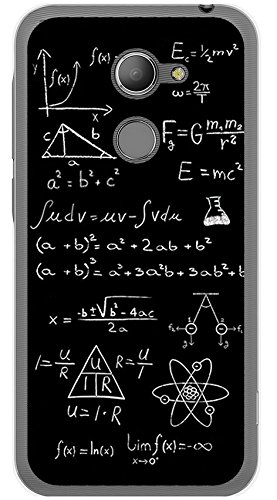 Tumundosmartphone Funda de Gel TPU para VODAFONE Smart N8 diseño Formulas Dibujos
