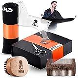 King LEONIDAS Beard Care Grooming Kit   Complete SET - Beard...