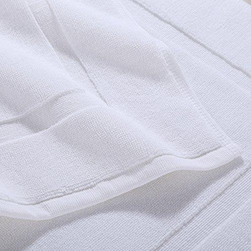 Bathroom towels cotton bathroom water-absorbing towel bath mat -5080cm