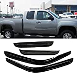 window tint chevy silverado - Viksee 4pc Vent Shade Window Visors For 99-06 Silverado/Sierra 1500/2500/3500/2500 07 1500/3500/2500 HD Extended Cab