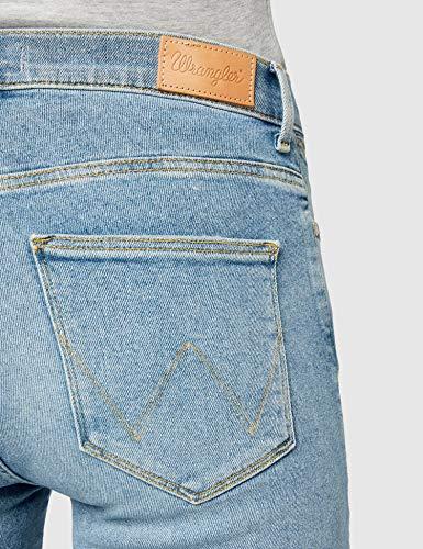 Wrangler Jeans Island 147 Mujer Para High Skinny green Azul qFEwfF